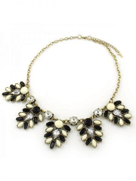 necklace black white, statement necklace, fashion, musthave, fashionlover, fashion webshop, dutch fashion webshop, i'm a fashionlover
