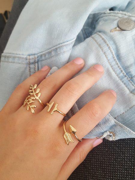 Trendy ringen set (4 stuks)