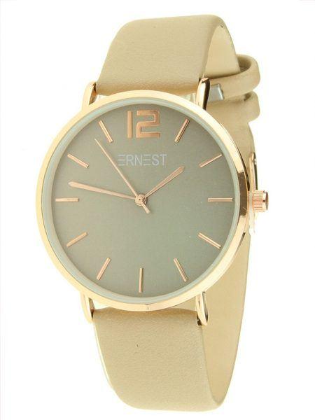 ernest horloge, verkoop ernest horloges, fashion musthaves webshop, nude ernest horloge, beige ernest horloge