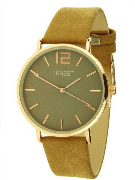 ernest horloge, verkoop ernest horloges, fashion musthaves webshop, camel ernest horloge, bruin ernest horloge