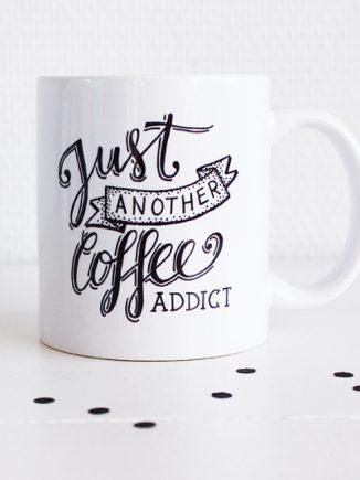 koffie, koffiemok, koffiebeker, ochtend koffie, koffiemok met opdruk, bedrukte koffiemok, fashion musthaves, musthaves webshop, fashionlover